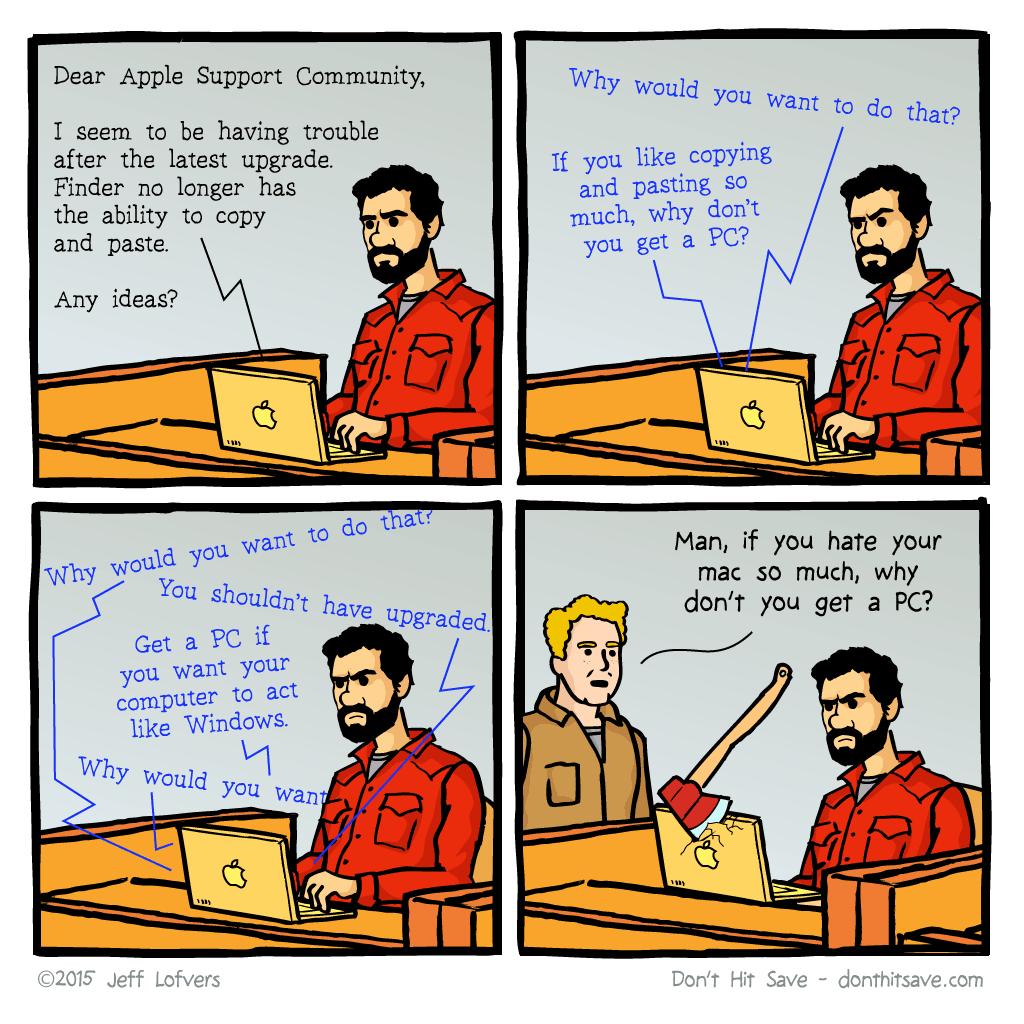 Every Mac Problem Ever