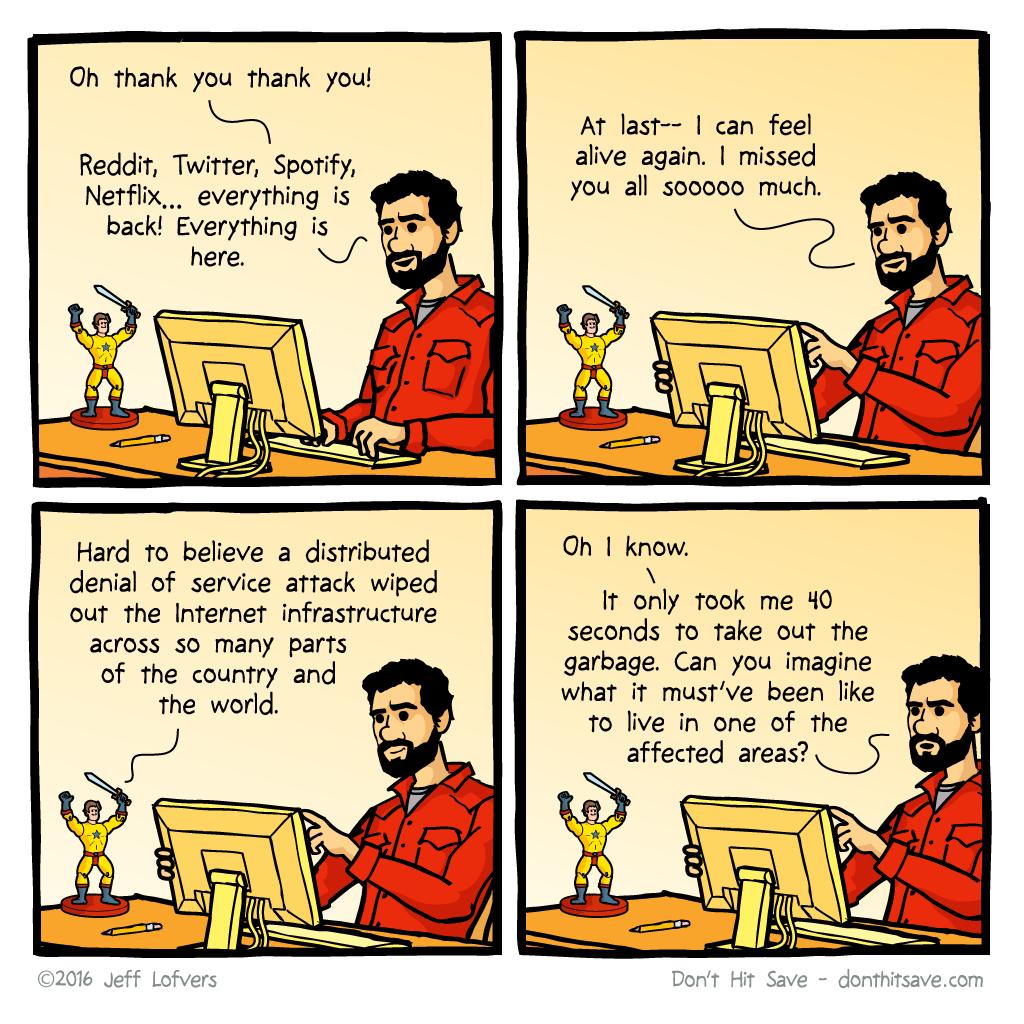 Bonus Comic: DDos