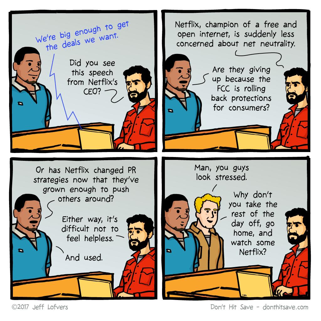 Netflix Neutrality