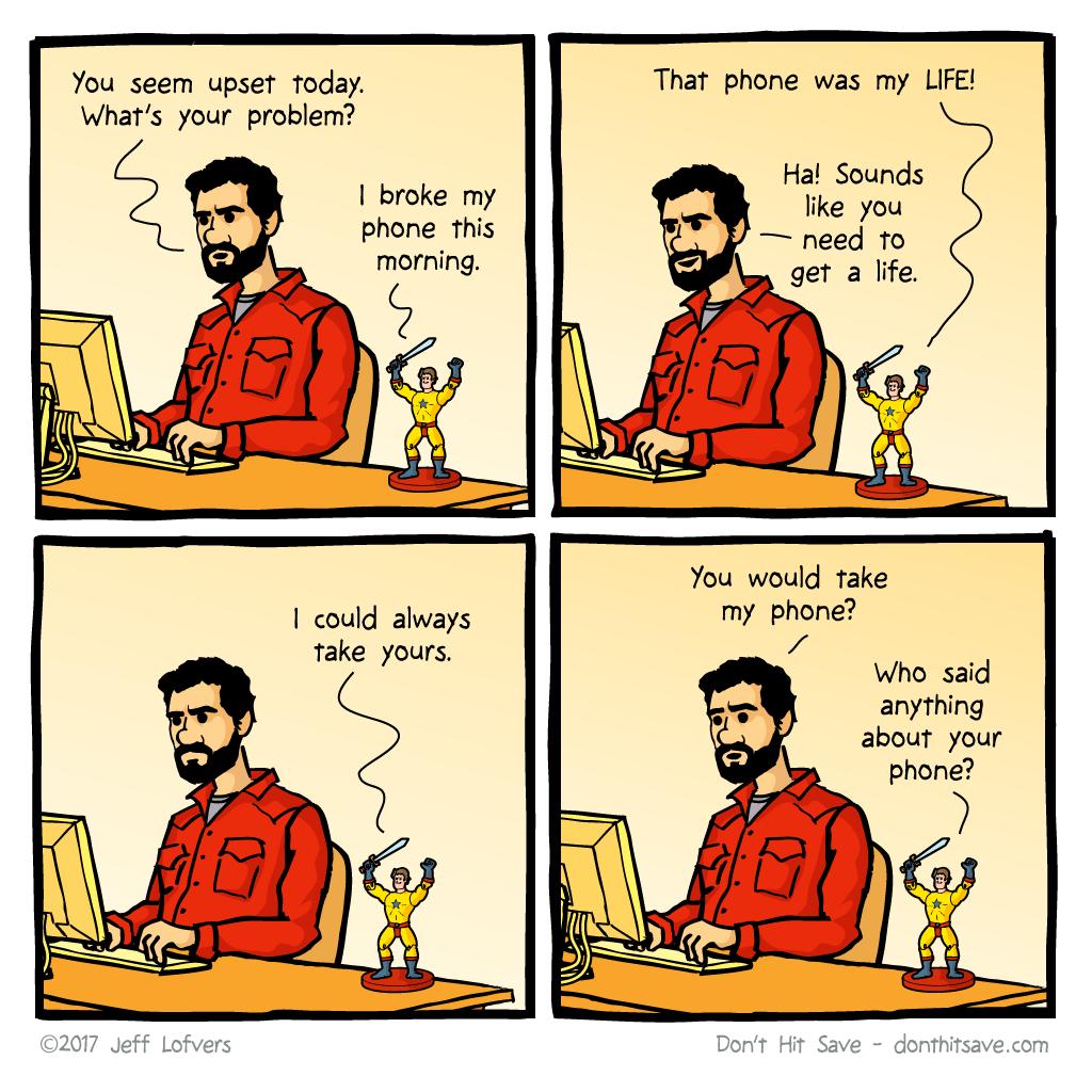 The Broken Phone